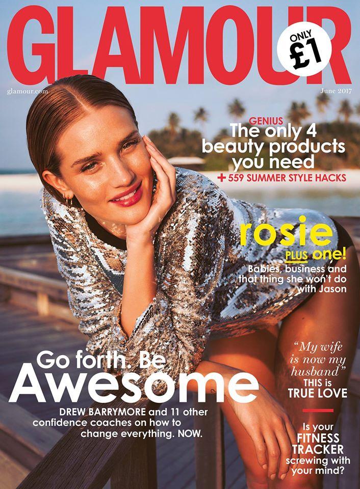 Jourdan Dunn Models Laid-Back Looks for Glamour UK