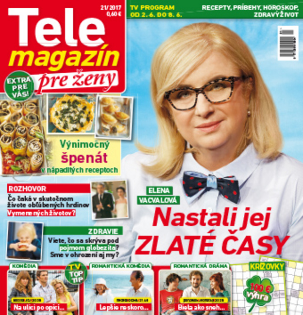 c4cb9eb07 Tele magazín pre ženy
